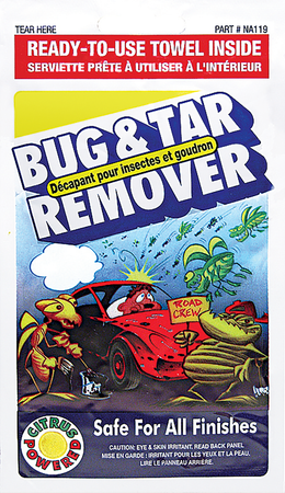 NA119 | Bug & Tar Remover Towelette