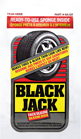 NA127 | Black Jack Tire Shine Towelette