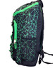 "Fuel ""TopLoader"" Sport Backpack - w/ Front Bungee - New – Shattered Geo Lime Green. Perfect for Pickleball!"