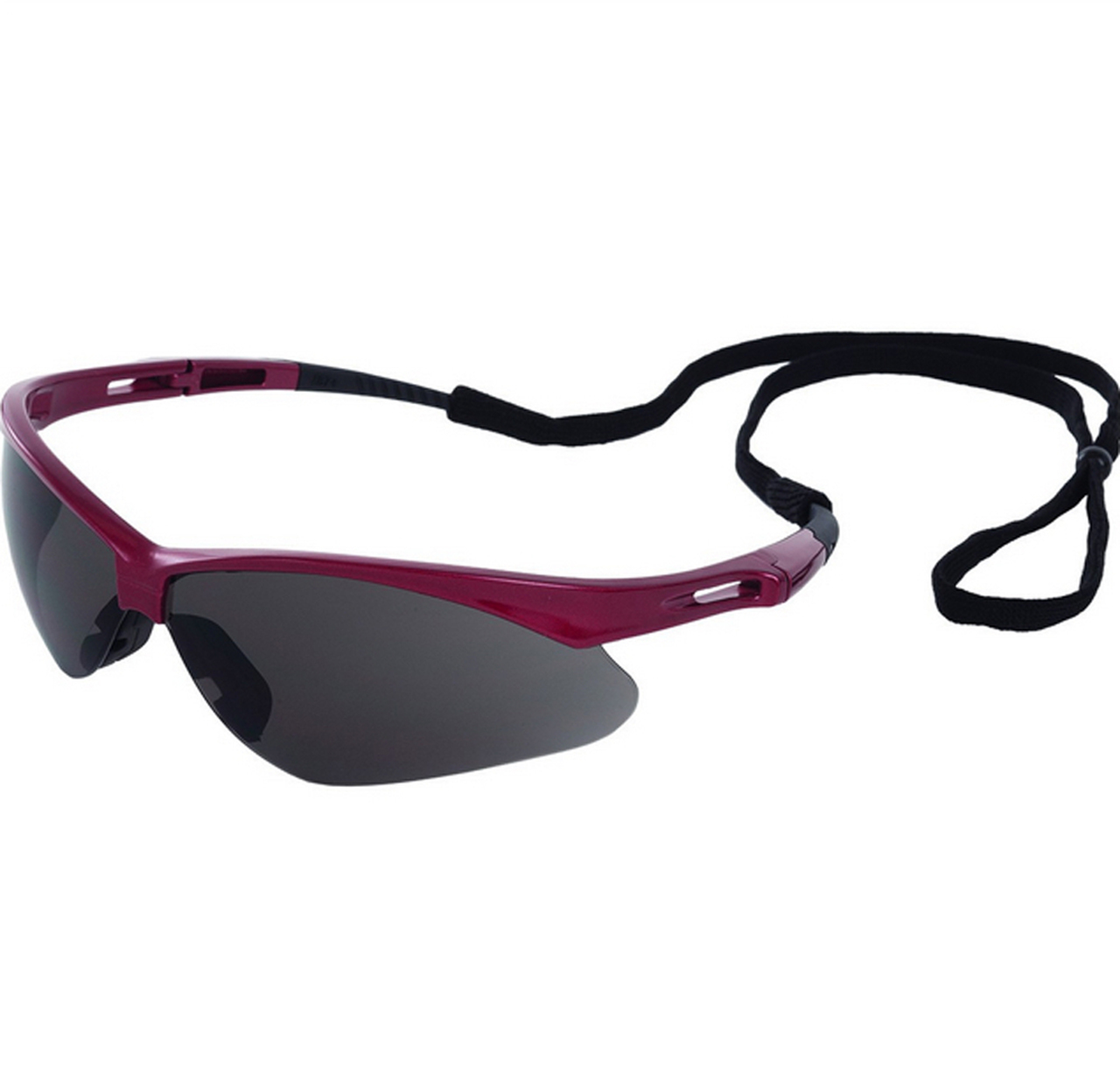 ERB Annie Safety Glasses with Pink Camo Design and Smoke Lens
