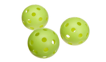 Durable ball ideal for Pickleball play. USAPA tournament play approved. Can also be used indoors or outdoors.