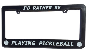 Give your vehicle a touch of style and individuality with this quality license plate frame. Large easy to read text - this frame will not rust and is designed to last! A real roadside attraction.