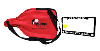 """The Newest Addition To The """"Pickleball Power"""" family. """"Designed by Pickleball Players for Pickleball Players"""". (Save $5.00 on this great combo!)"""