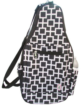 "Pickleball Marketplace Ladies Printed Pickleball Sling Bag - ""Poppy"" - New 