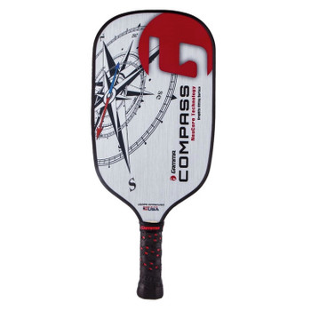The Compass Graphite Paddle gives players a long and versatile reach paired with a top quality polymer core.