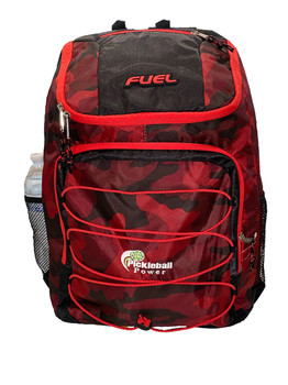 """With easy top-access and a padded 19"""" paddle pocket, this backpack makes it easy to carry in all in style."""