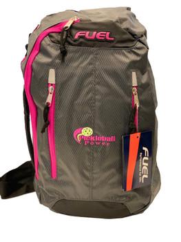 Active Crossbody Backpack – Graphite w/ Magenta Trim