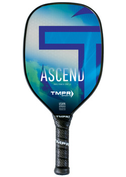 The Ascend is a medium weight power paddle. It was designed especially for players coming from tennis or racquetball backgrounds who value the aerodynamic shape.