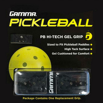 GAMMA Pickleball grips are on 9 out of 10 paddles in the industry!