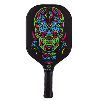 The Vulcan Candy Sugar Skull Paddle has a colorful Day of the Dead-inspired design that will set you apart.
