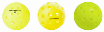 Most Popular - Top 3 Balls - Variety Outdoor Pickleball Sampler -  3 Pack