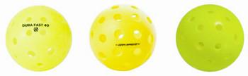 Most Popular - Top 3 Balls - Variety Outdoor Pickleball Sampler -  3 Pack