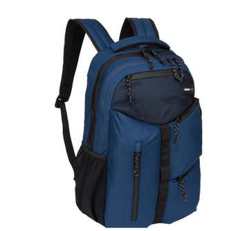 """Swiss Tech """"Appenzell"""" Backpack - 5 Zipper Pockets - Will hold multiple Pickleball paddles and sports gear."""