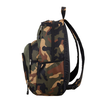 """Eastport """"Sport Tier"""" Backpack - Multi-Compartment Storage - Will hold multiple Pickleball paddles and sports gear. CAMO"""