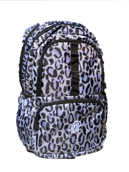 """Pickleball """"Retreat"""" Backpack (Snow Leopard) - A Spacious Bag To Take To The Courts"""
