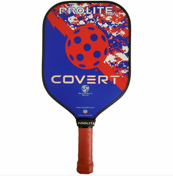 The Covert Paddle's adaptive design and sturdy core will sneak up on your opponents and have you putting away balls before they know what hit them!