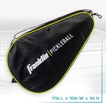 Franklin Sports - Pickleball - X Paddle Bag - - Black/Lime Green - Padded For Protecting Your Paddle