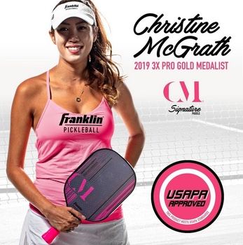 FRANKLIN - Christine McGrath Signature Pickleball Paddle - 13mm - (FREE GIFT WITH PURCHASE!)