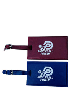 Great for hanging on your Pickleball bag or Luggage. A fantastic way to show your love toward the sport of Pickleball. (Note: 2 ID tags are included.)
