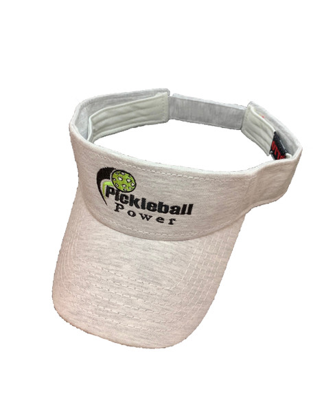 Fashion Cloth Visor - Light Grey - Jersey Knit