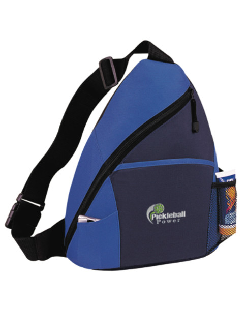 Pickleball Sling Bag - New - A top value sport sling bag with a perfect mix of size & durability!