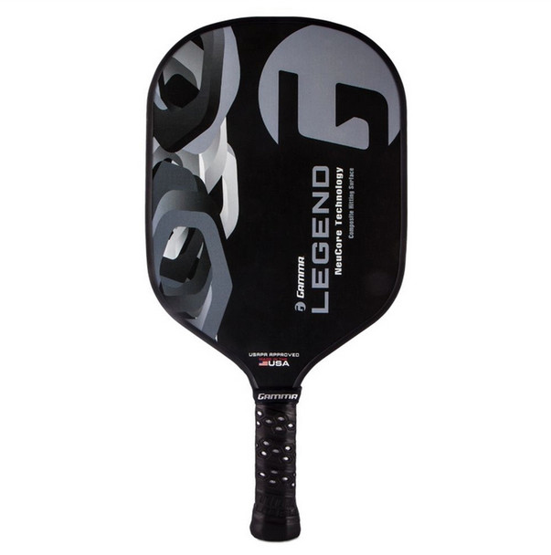 The Legend Composite Paddle offers a high amount of power without a reduction in touch or sensitivity.