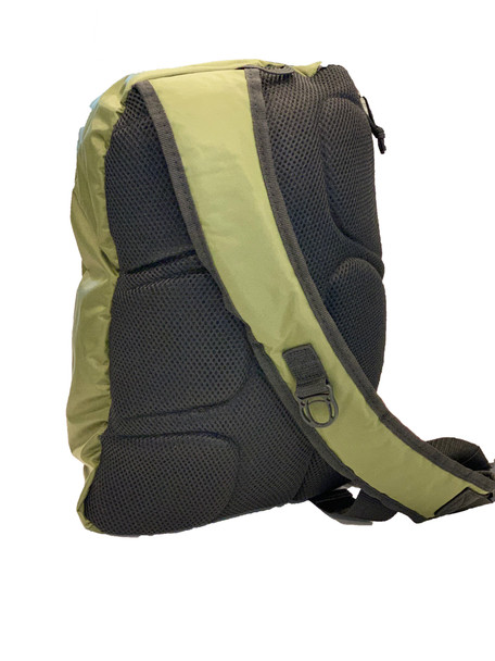 Active Crossbody Backpack – Army Green. Perfect for Pickleball!