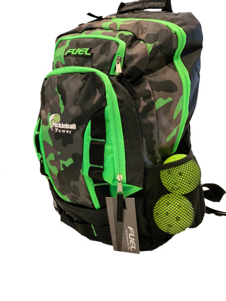 """Colorways"" Durable Backpack - Will hold multiple Pickleball paddles and sports gear."