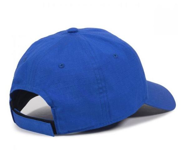 """Pickleball Strong"" Cap  - Moisture Wicking - Cotton Ripstop - Royal Blue"