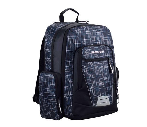 """Eastport """"Titan 3.0"""" Backpack - Oversized Main Compartment - Will hold multiple Pickleball paddles and sports gear. Blue"""