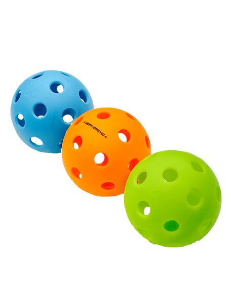 Most Popular - Top 3 INDOOR Balls - Variety Pickleball Sampler -  3 Pack