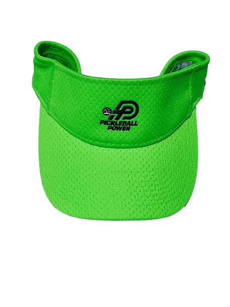 """Fashion Cloth Visor - """"Athletic Mesh"""" - Lime Green"""