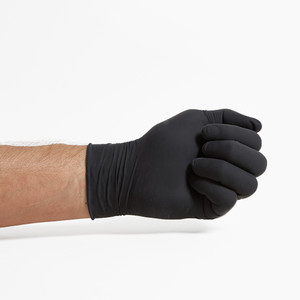 Black Latex Gloves