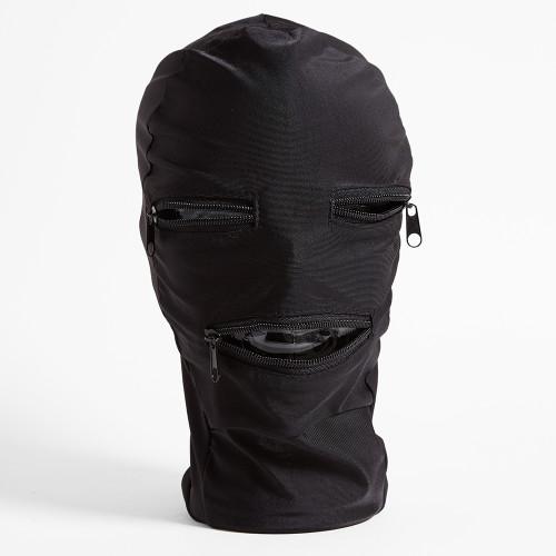 Fetish Fantasy Zipper Face Hood