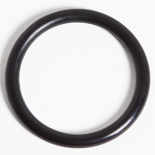 Black Non-Stretch Rubber Cockrings