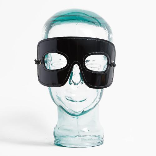 Patent Leather Zorro Mask