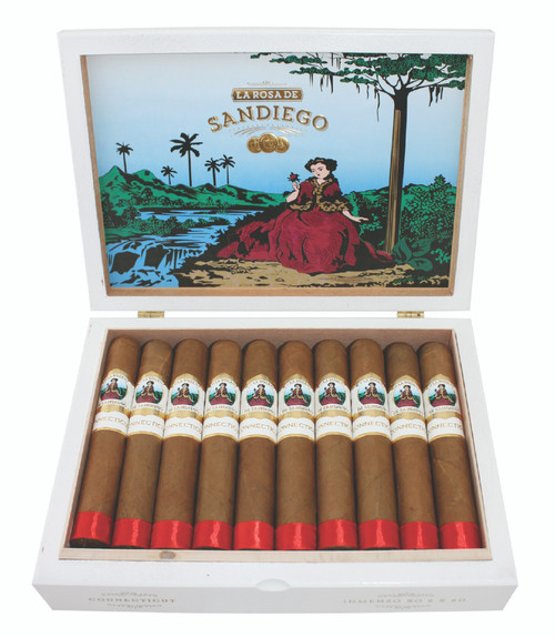 La Rosa de Sandiego - Connecticut Robusto 5 x 52 (20 per Box)