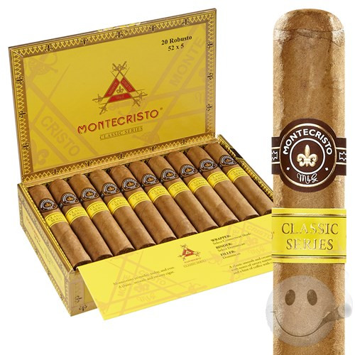 "Montecristo Classic No. 2 Torpedo (6.1"" x 52) Box of 20"