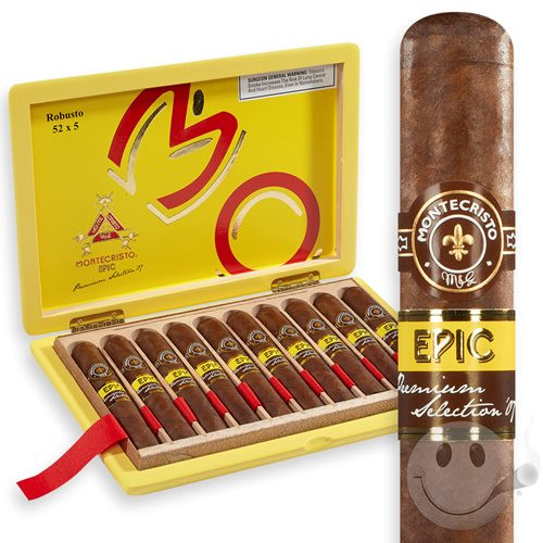 "Montecristo Epic Churchill (7.0"" x 56) Box of 10"