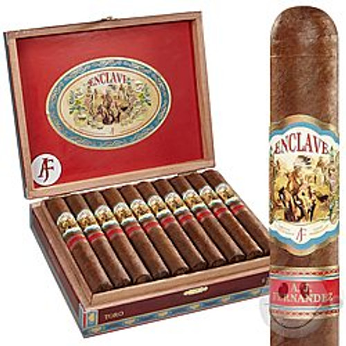 "Enclave Habano by AJ Fernandez Robusto (5.0"" x 52) Box of 20"