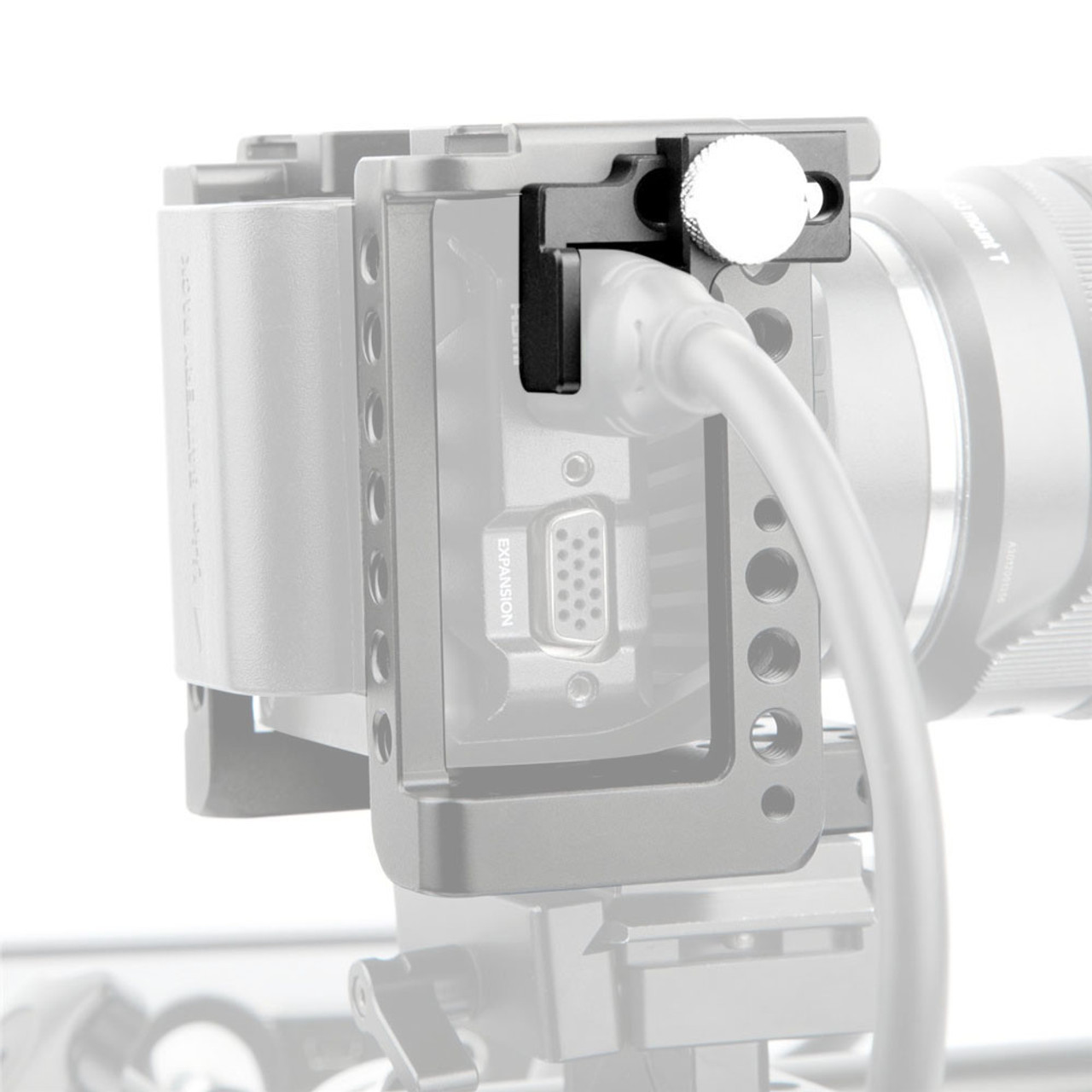 SmallRig HDMI Cable Clamp for Blackmagic Video Assist Monitor Cage BMMCC Cage G7//GH4//GH3 Cage 1693