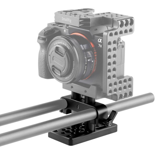 SMALLRIG 15mm Rail Support System Baseplate 1841