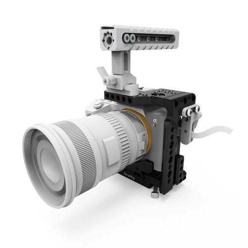 SmallRig Half Cage with Integrated QR Plate for Sony A7R III/A7 II/A7R II/A7S II 2098