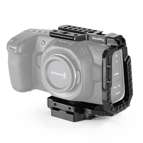 SmallRig QR Half Cage for Blackmagic Design Pocket Cinema Camera 4K CVB2255