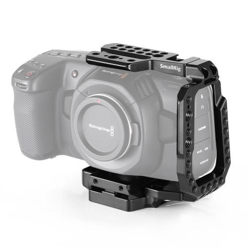 SmallRig QR Half Cage for Blackmagic Design Pocket Cinema Camera 4K CVB2255