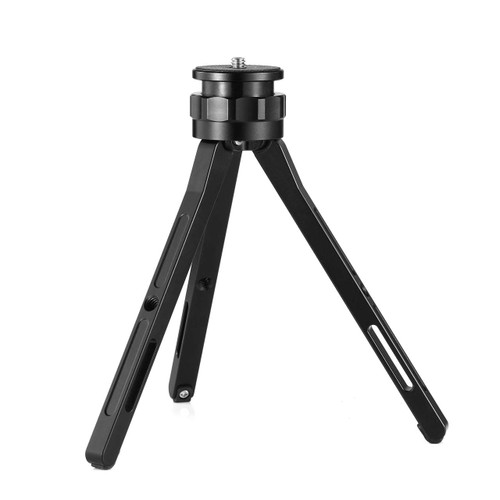 Aluminum alloy height adjustable desktop tripod without ball head 2288