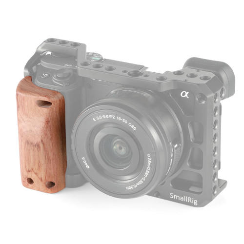 SmallRig Wooden Handgrip for Sony A6400 Cage 2318