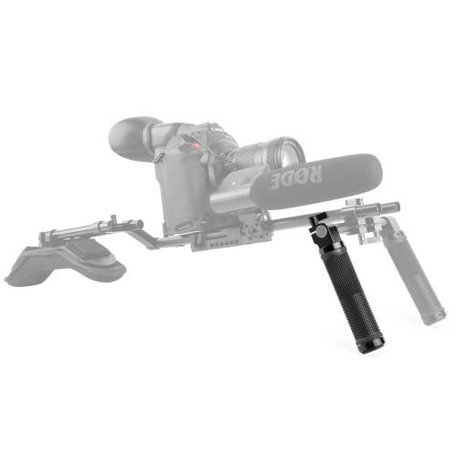SMALLRIG Basic Handle V2 for 15mm DSLR Shoulder Rig(Black) 971