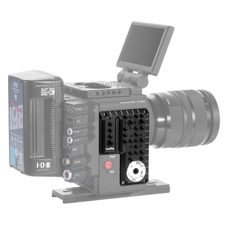 SMALLRIG RED SCARLET-W/ EPIC-W/RAVEN/ WEAPON Right Side Plate 1848