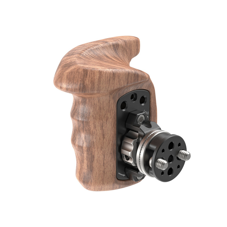 SmallRig Wooden Handgrip with Bolt-On Mount (Right Hand) 2083